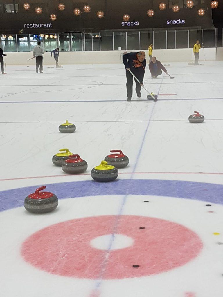 Curling EGO Cup Hans