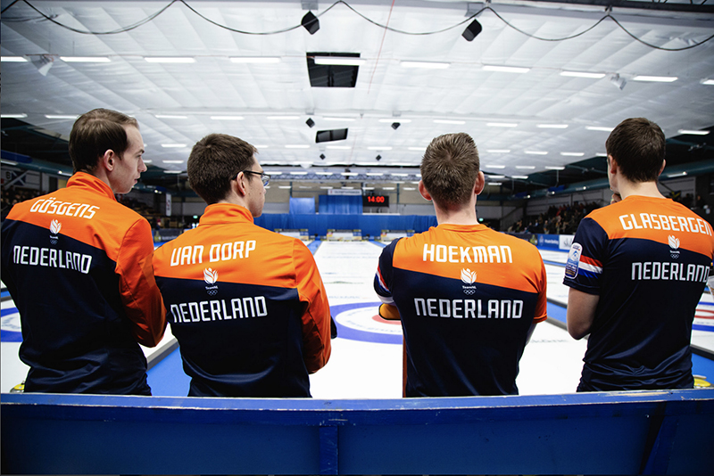 EK Curling van start