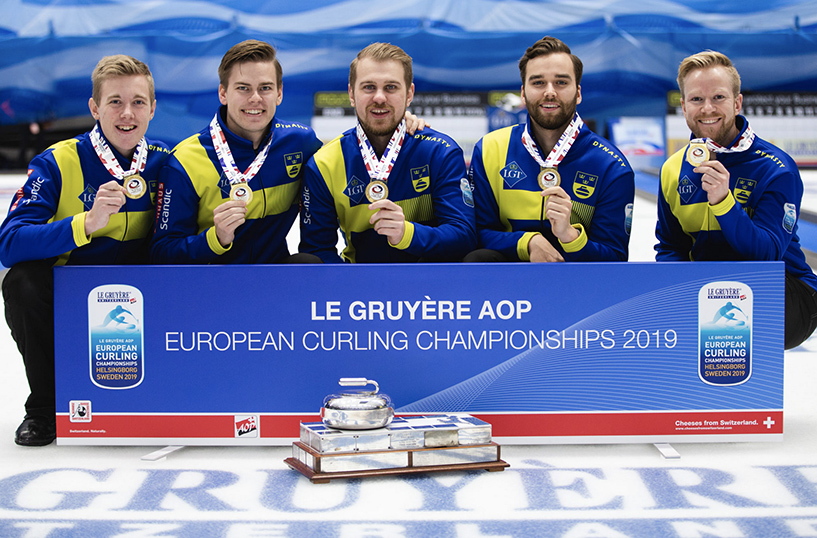 Zweden domineert EK Curling 2019