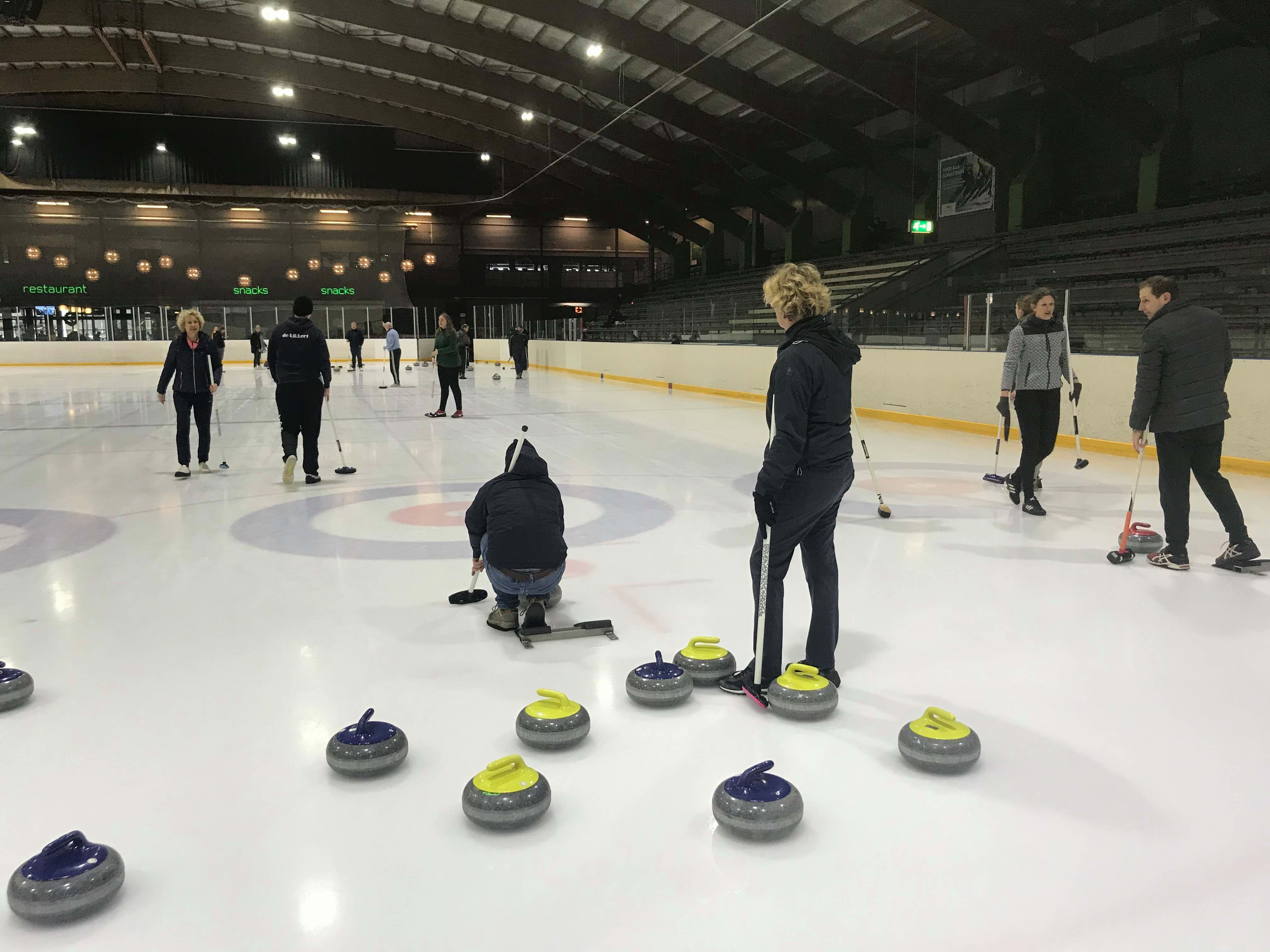 Boek nu je curling clinic