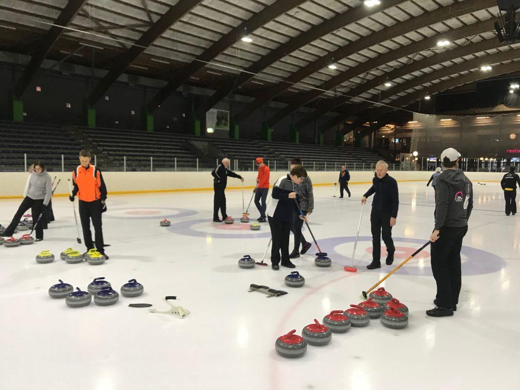 CCU Nieuwjaarstoernooi curling