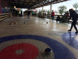 Curlingbaan de Winterfabrique
