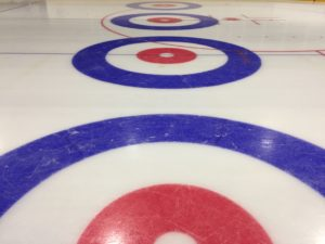 Curlingbaan het huis curlinghuis