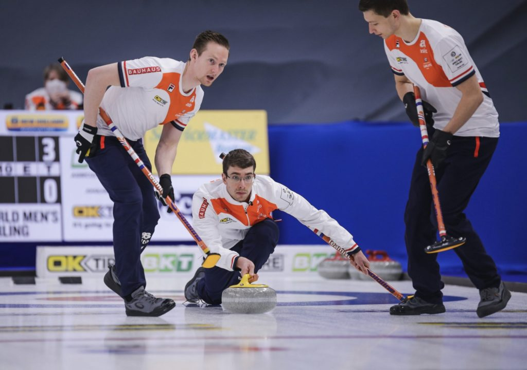 WK Curling 2021 Team Netherlands