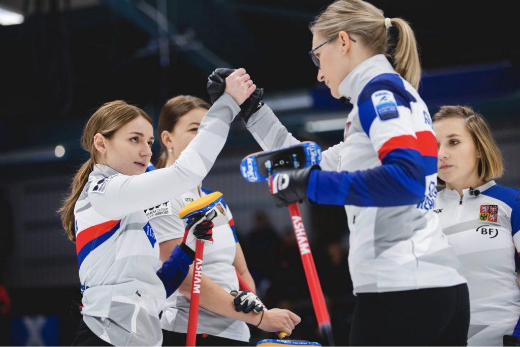 Czech Republic at the Le Gruyere AOP European Curling Championships 2019, Helsingborg, Sweden © WCF / Céline Stucki